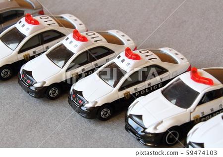 Police car (miniature police vehicle) 59474103