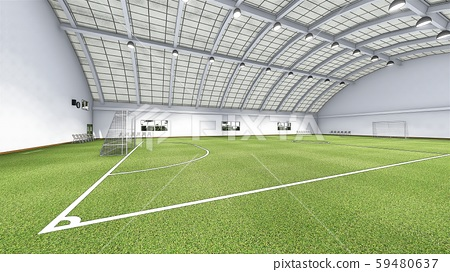 Futsal court soccer indoor floor lawn illustration 56 59480637