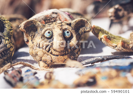 Beautiful brownie made of ceramic souvenir. Gomel, Belarus 59490101