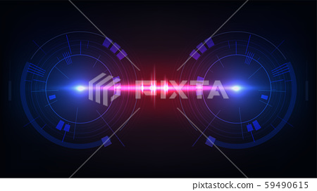 Hud display interface background 59490615
