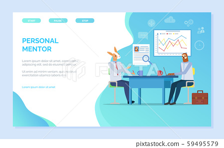 Personal Mentor Hipster Animal Conference Website 59495579