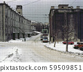 Old photo / Near the Otaru Canal in the 1950s 59509851