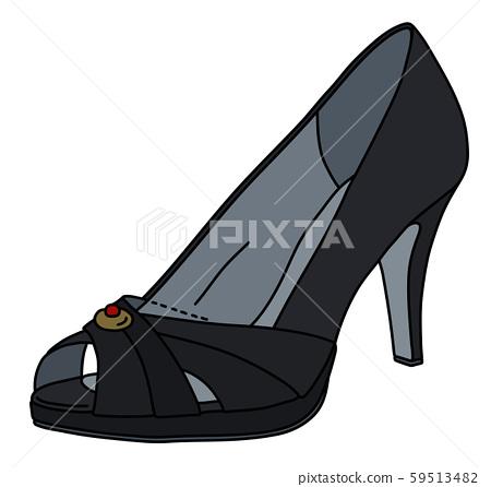 The black womans shoe 59513482