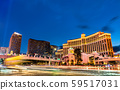 Intersection of the Las Vegas Strip and Flamingo Road 59517031