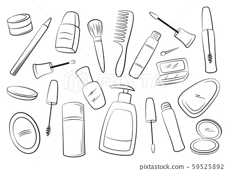 Cosmetic Accessories Contours 59525892