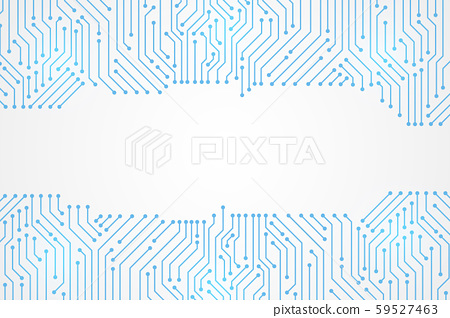 Abstract Technology Background , blue circuit board pattern 59527463