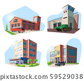 Firehouse, hospital, police deparment, military 59529038