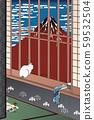 Famous 100 Edo Views Asakusa Taura-no-Mori-no-Mori & Bakaze Sunny 2 59532504