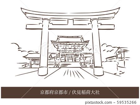 Kyoto Prefecture Kyoto City / Fushimi Inari Taisha 59535266