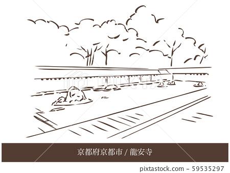 京都府京都市/龍安寺 59535297