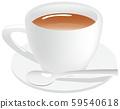 Hot tea image illustration 59540618