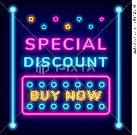 Special Discount, Buy on Sale Caption, Promotion 59542544