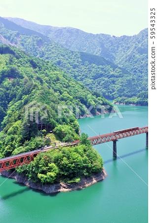 시즈오카 현 오쿠 오오이 호수에 역 59543325