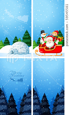 Background templates with christmas theme 59545581