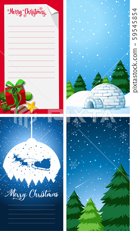 Background templates with christmas theme 59545854