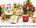 크리스마스 장식 산타 클로스 59550286