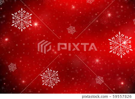 Red festive winter background. 59557826