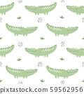 Crocodile seamless pattern background 59562956