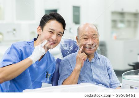 牙醫和老人 59566461
