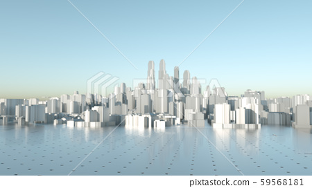 Abstract Modern High Quality City Panorama 59568181