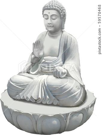 Buddha statue 59578468