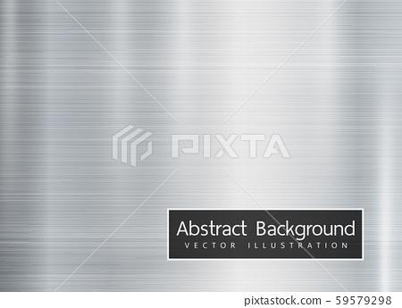 Metal texture background. Vector 59579298