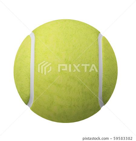 3D Tennis Ball 59583382