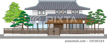 7 Japanese style houses with mochi 59590164