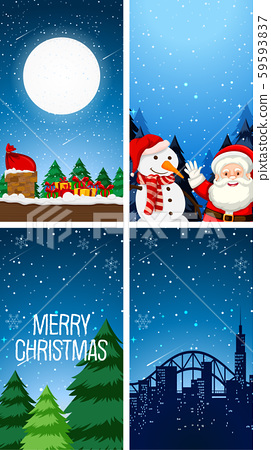 Background templates with christmas theme 59593837
