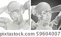 3d rendering illustration of human 59604007