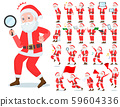 flat type Santa Claus_Action 59604336