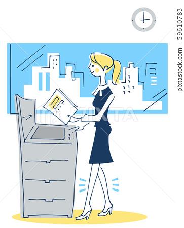 OL使用業務複印機 59610783