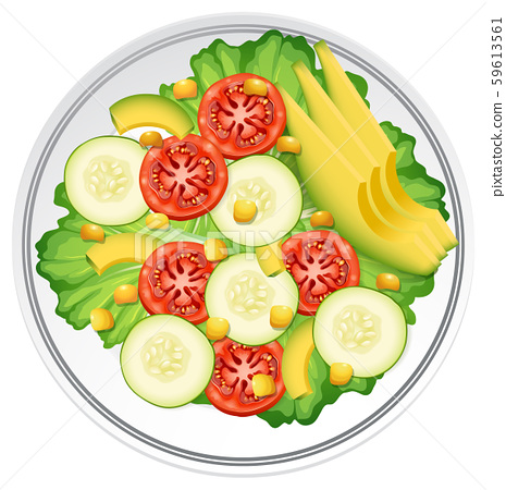 A Fresh Healthy Salad 59613561