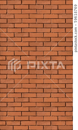 Background with a seamless pattern of a brick old wall. Vertical screensaver for gadgets. 59618769