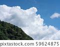 Thunder cloud cumulonimbus sky summer sky (August) 59624875