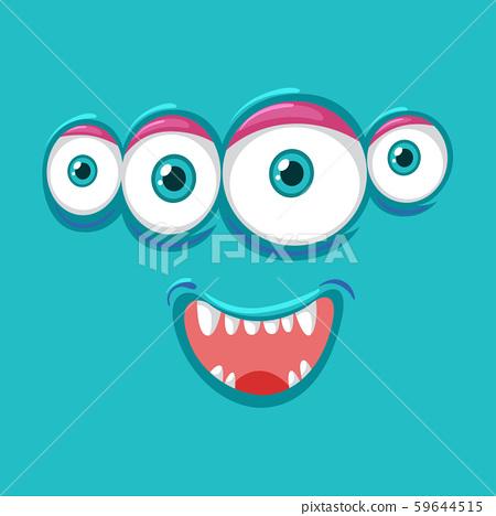 Four eyes monsater face 59644515