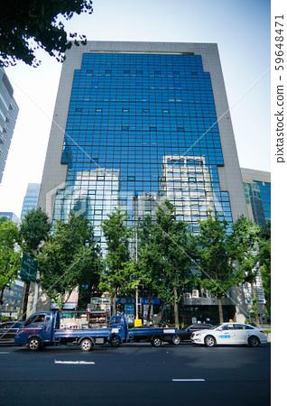 韓國首爾街景 59648471