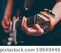live rock concert punk musician electric guitar 59649446