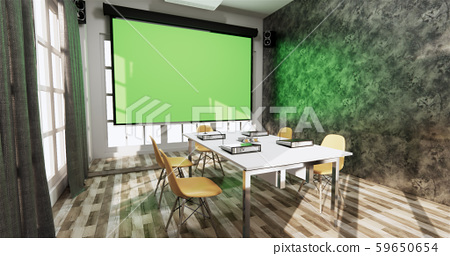Loft style Office business - beautiful boardroom 59650654