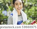 婦女生活方式農業 59660975