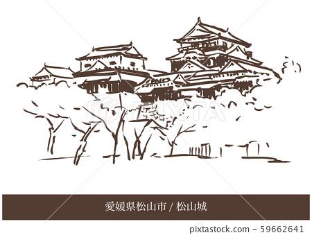 에히메 현 마츠야마시 / 마쓰야마 성 59662641