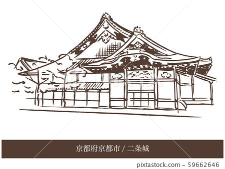 京都府京都市/二條城 59662646