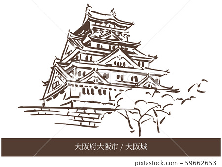 大阪府大阪市/大阪城 59662653