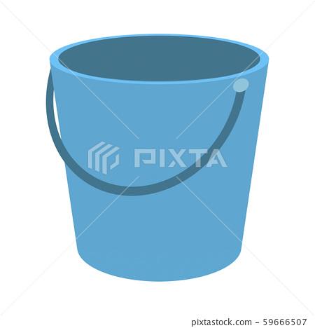 Empty bucket 59666507
