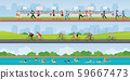 Triathlon marathon sport competition race. 59667473