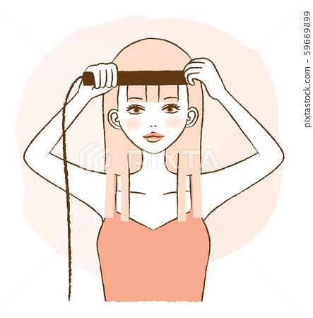 劉海直女性插圖 59669899