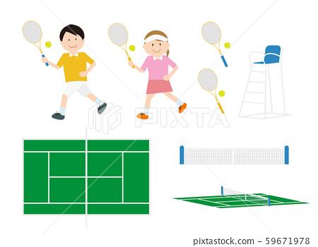 網球套裝1 59671978