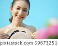妇女旅行暑假 59673251