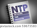 NTP - Network Time Protocol acronym 59673583