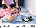 Thai head massage in spa 59680964